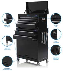 SGS Mechanics 8 Drawer Tool Box Chest & Roller Cabinet £89.99 at SGS Engineering UK