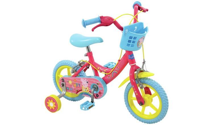 Peppa Pig 12 Inch Kids Bike (3-5 YEARS) £47.99 with Code @ Argos (Free P&P)