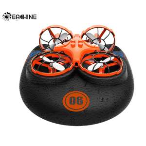 Eachine E016F 3in1 EPP RC Drone Quadcopter (Flying Air Boat) for £12.90 delivered (£10.83 - new users) @ AliExpress / EACHINE Official Store
