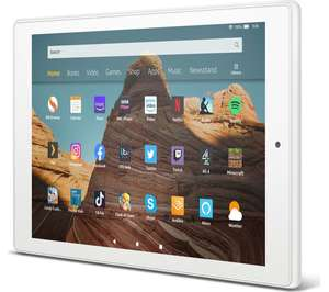 AMAZON Fire HD 10 Tablet (2019) - 32 GB, White £94.99 at Currys PC World