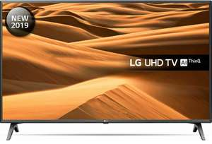 "LG 50UM7500PLA (2019) LED HDR 4K Ultra HD Smart TV, 50"" with Freeview Play/Freesat HD + 5 Year Warranty - £399 @ John lewis & Partners"