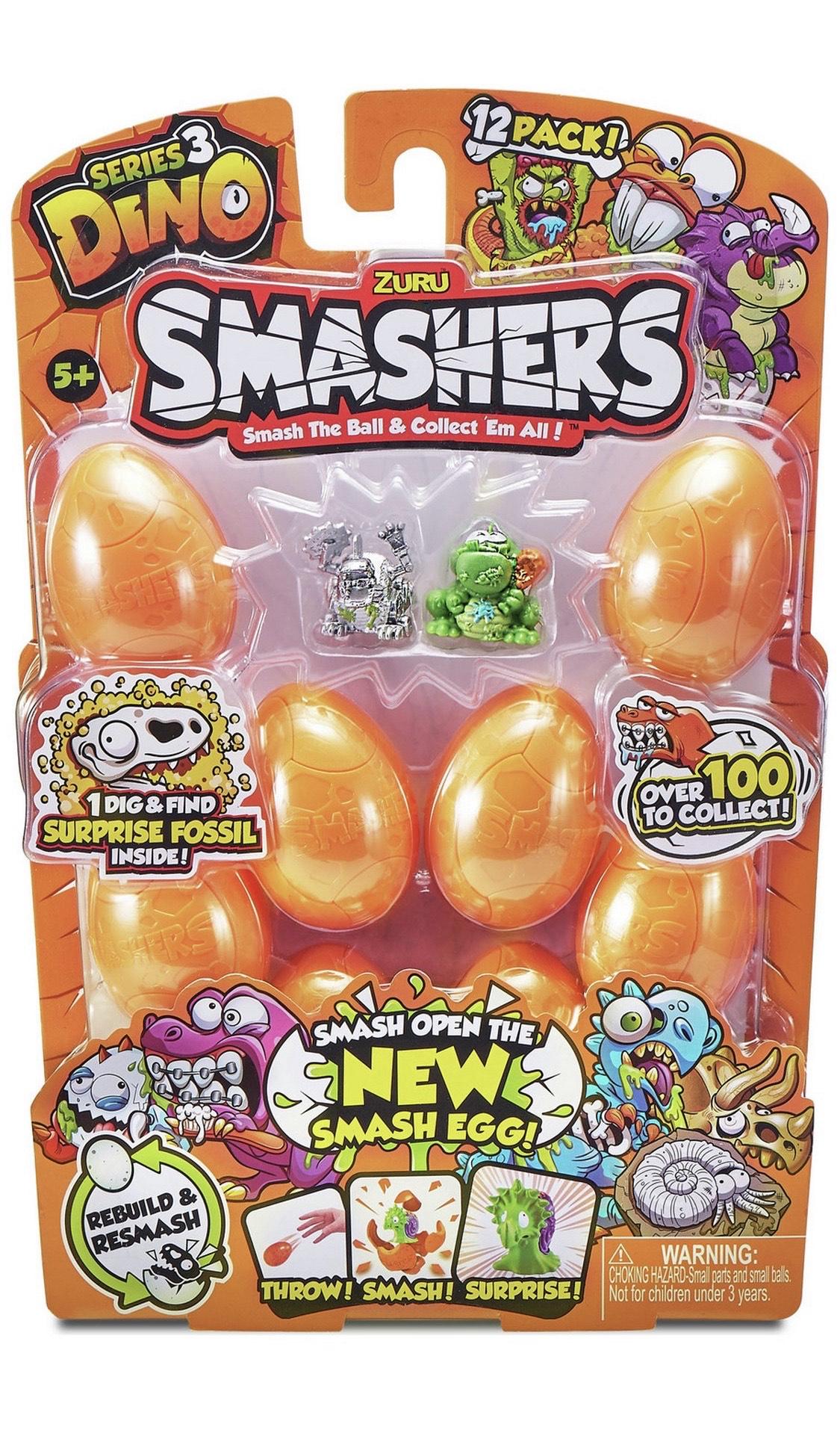 Zuru Smashers 12 Pack Series 3 £5.50 @ Argos