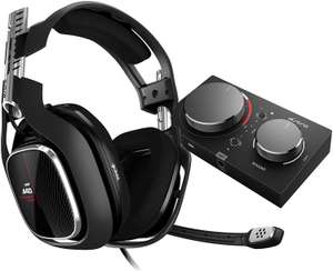 ASTRO Gaming A40 TR, Wired PC Headset + MixAmp Pro TR Gen 4 Adapter Black / Red £183.84 Amazon Germany