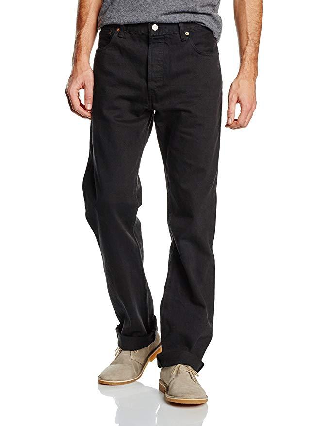Levi's Men's 501 Original Fit' Jeans - Dusty Black £21 - LIMITED SIZES AVAILABLE at Amazon