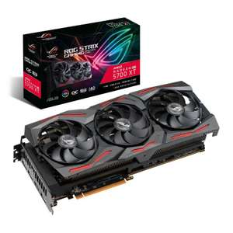 ASUS Radeon RX 5700 XT 8GB ROG STRIX OC GAMING Graphics Card £453.47 delivered + free BUNDLE ITEM ROG Delta Core Headset at Ebuyer