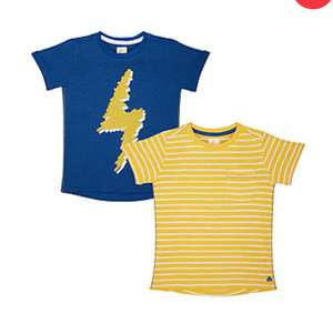 Mothercare T-shirts two for £2 Free click and collect