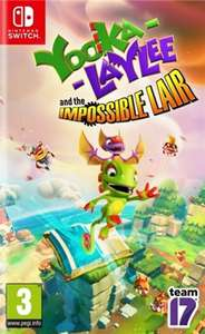 Yooka Laylee and the Impossible Lair (Nintendo Switch) - £20.95 delivered @ The Game Collection
