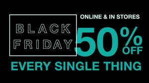 Gap 50% off everything online. Discount comes off during checkout.