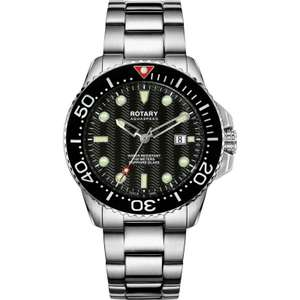 Rotary Aquaspeed Watchh £110.25 with a 25% discount code @ Watch Shop