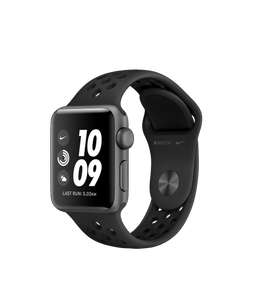 Apple Watch Series 3 (GPS, 38mm) - Space Grey Aluminum Case with Black Sport Band - £199 @ Apple