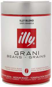 illy Classico Medium Roast Coffee Beans, 250g £3.94 at Amazon Pantry Prime Exclusive