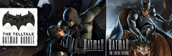 [Steam] The Telltale Batman Bundle PC - Inc Batman: The Telltale Series & Batman: The Enemy Within - £4.96 @ Steam Store