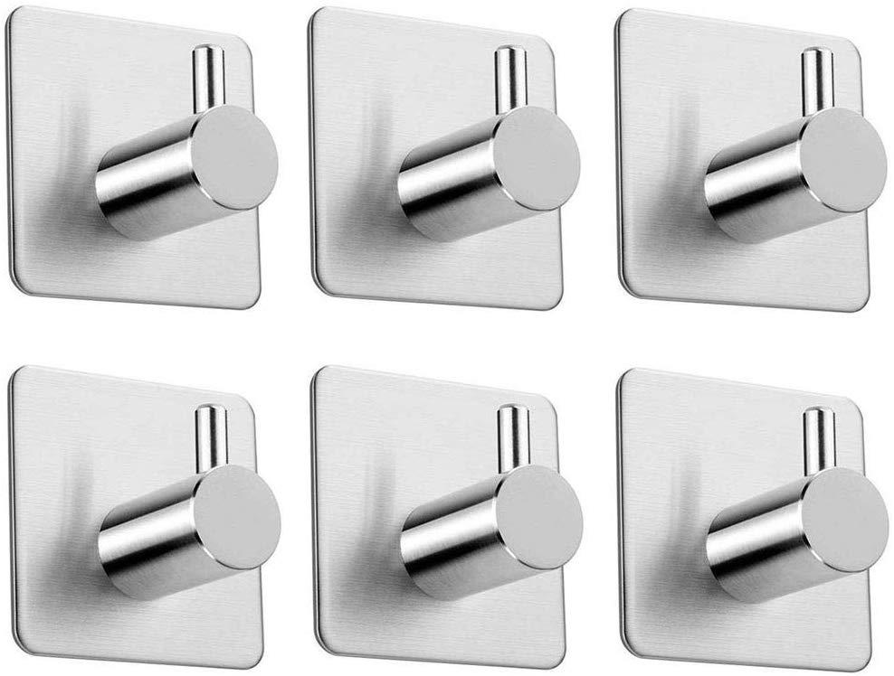 Qeekzeel Self Adhesive Hooks - Pack of 6 - £6.99 at Amazon Prime / £11.48 Non Prime