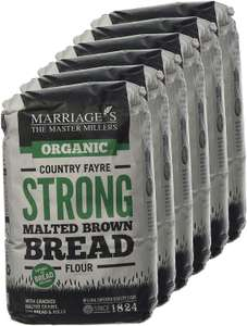 W H Marriage Org Country Fayre Malted Brown 1000 g (order 6 for trade outer) £3.18 at Amazon Add-On