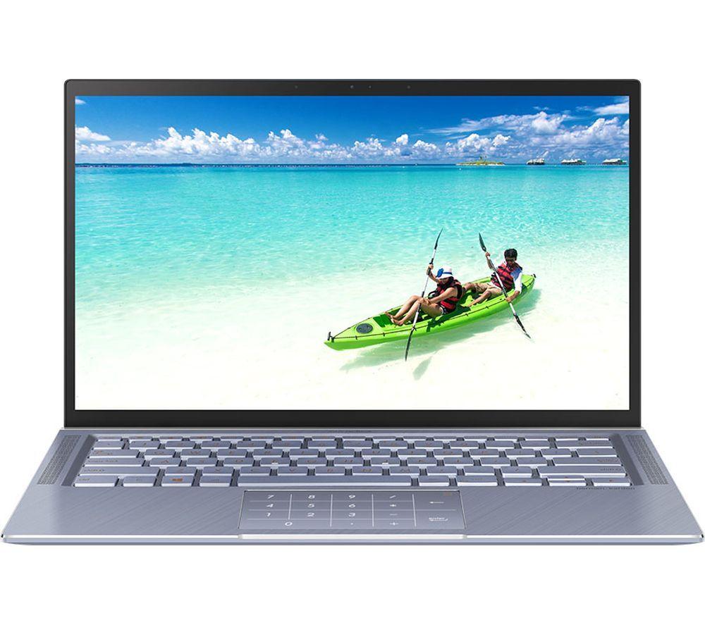 """ASUSZenBook 14 UM431DA 14"""" AMD Ryzen 5 Laptop - 256 GB SSD, Blue £549.99 at Currys PC World"""