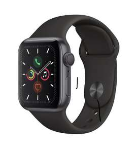Apple Watch Series 5 (GPS), 40mm Space Grey Aluminium Case With Black Sport Band £329 at Very