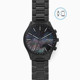 Holst Black Titanium-Link Hybrid Smartwatch £45 at Skagen