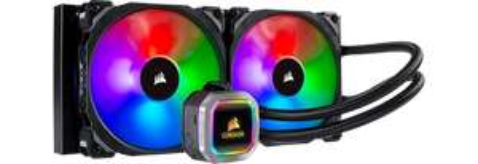 CORSAIR Hydro H115i Addressable RGB PLATINUM Liquid/Water Intel/AMD CPU Cooler £119.77 DPD pickup del @ Scan