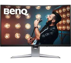 BenQ EX3203R 32 Inch QHD 2K HDR 144 Hz Curved Gaming Monitor (used-like new) @ Amazon Warehouse - £278.31