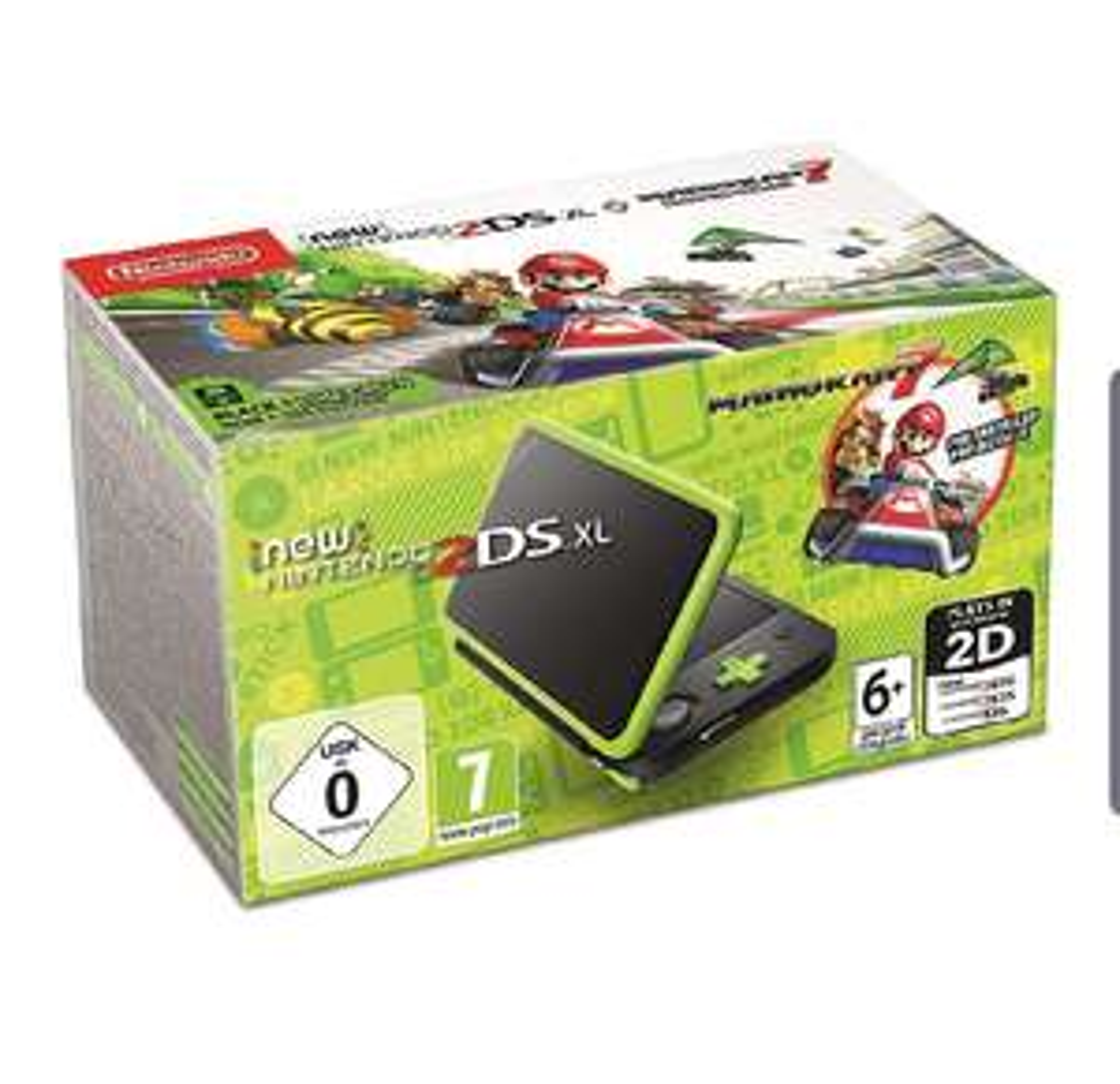 Handheld Console (Nintendo 2DS XL With Mario Kart 7) £93.77 @ Amazon