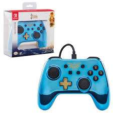 Wired Controller for Nintendo Switch - Chrome Zelda £11.99 (Prime) / £14.98 (Non-Prime) Delivered @ Amazon