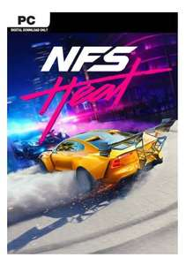 [PC] Need For Speed: Heat - £33.79 (£33.11 w/ PayPal) @ CDKeys