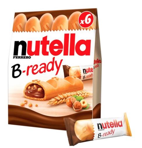 Nutella B ready 6 pack 99p Home Bargains Wishaw, Scotland