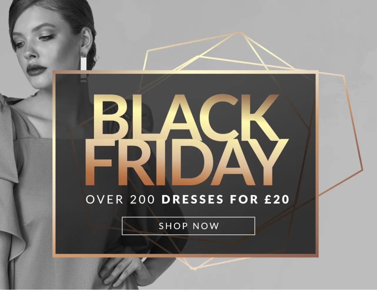 200 Dresses at £20 each @ Closet London
