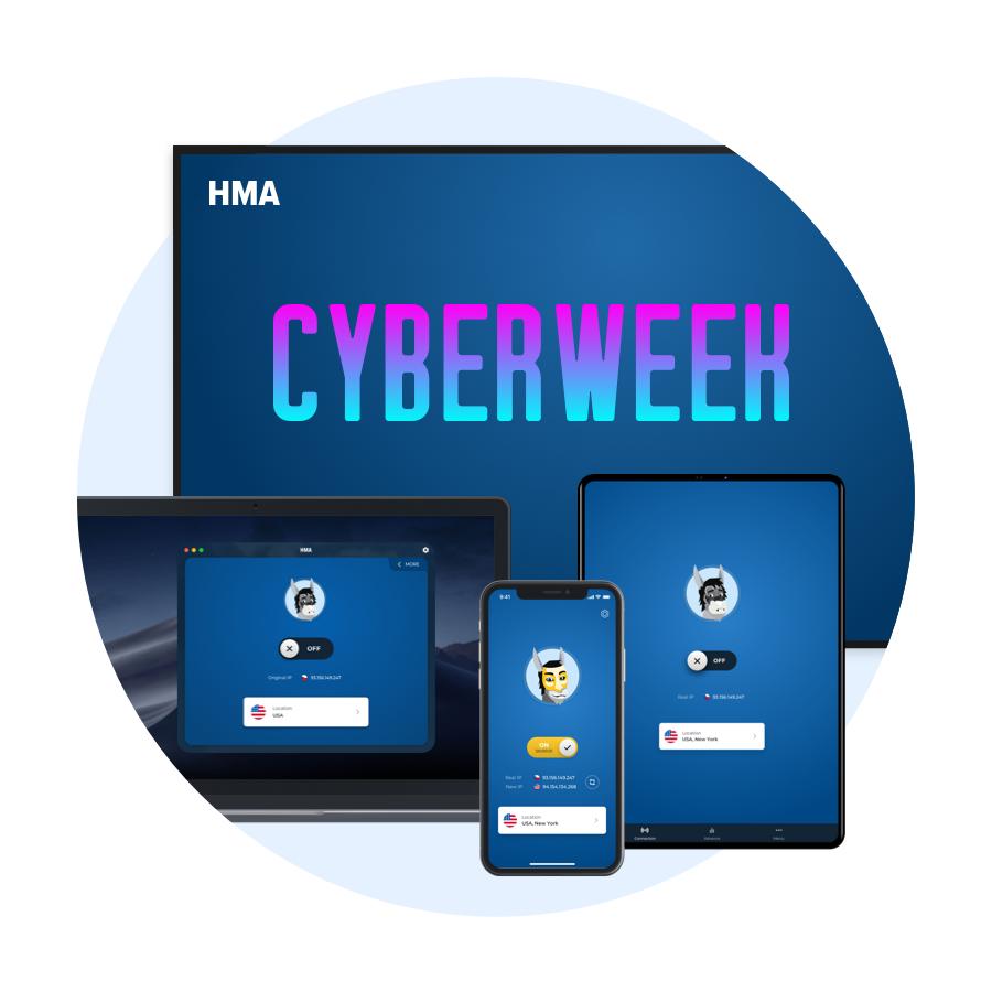 3 years HMA VPN access with 70% off £86.04 @ HMA