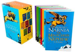 The Chronicles of Narnia 7 Book Box Set by C.S. Lewis £6.50 @ Books2Door (£2.49 P&P)