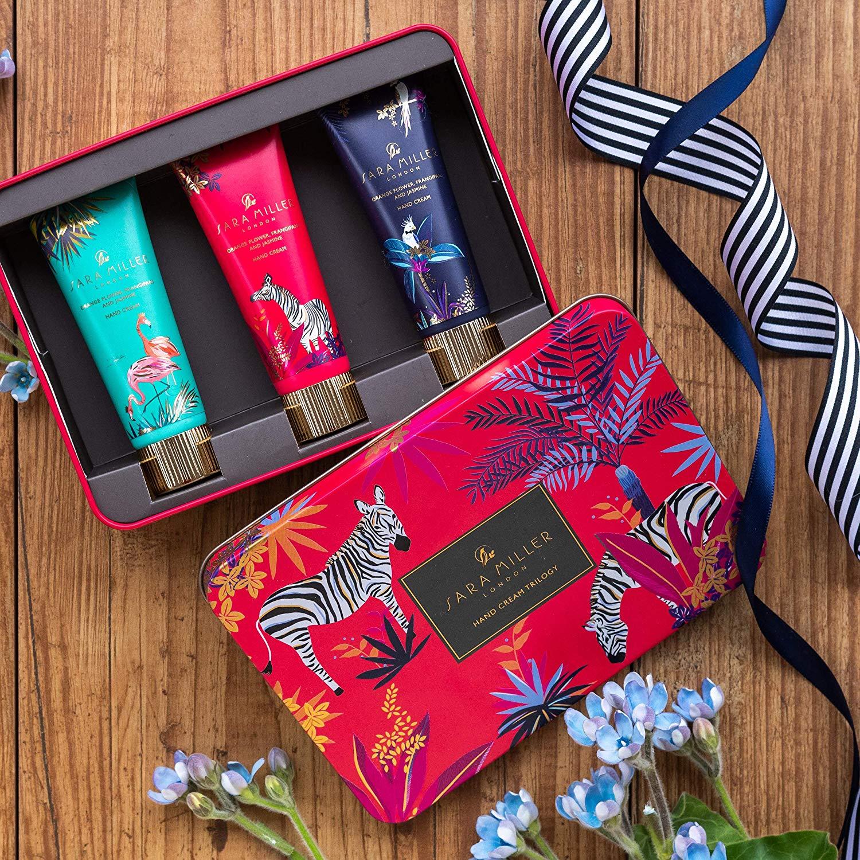 Sara Miller Beauty Tahiti Hand Cream Trilogy In Tin Box Gift Set £11.66 Prime / £16.15 non prime @ Amazon