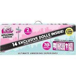 Amazon Black Friday deal L.O.L. Surprise! Amazing with 14 Dolls & 70+ Surprises down from £129.99 to £79.99