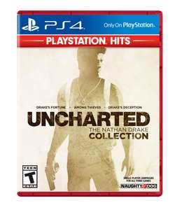 Uncharted Nathan Drake Collection / Uncharted Lost Legacy PS4 £6.06 each from PlayStation PSN Store Canada