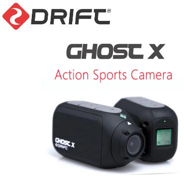 Drift Ghost X Action Camera for £63.07 @ AliExpress / drift Official Store