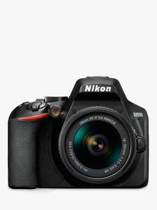NIKON D3500 DSLR Camera with 18-55 mm f/3.5-5.6G VR Lens £299 at John Lewis and Partners