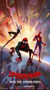 Spiderman: Into The Spiderverse (HD) £5.99 on Google Play