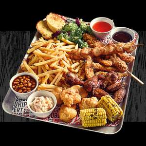 33% off flaming grill challenges @ Greene King
