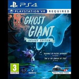 [PS4] Ghost Giant Deluxe Edition - £9.99 @ Game