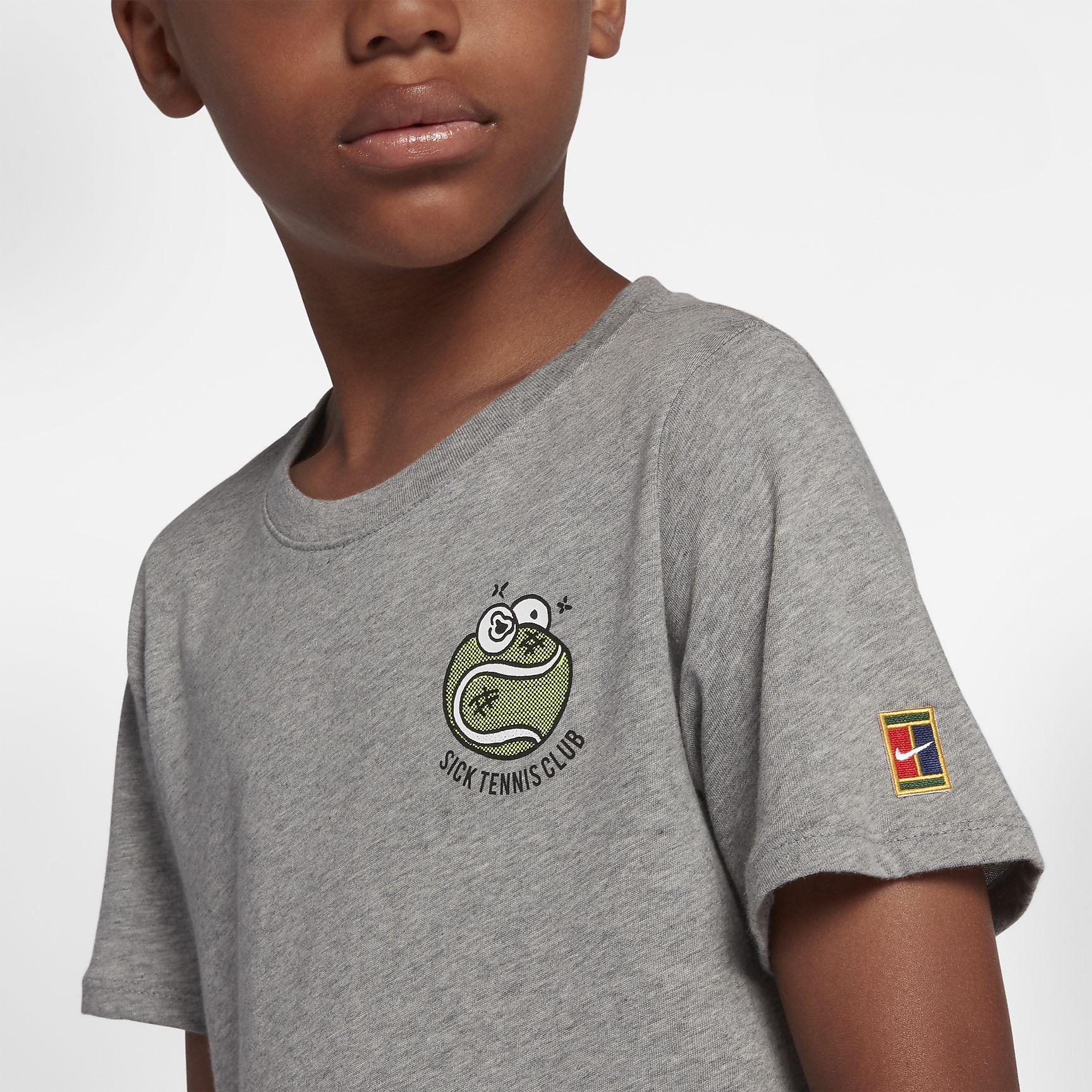 NikeCourt Boys Tennis T Shirt £6.98 Delivered @ Nike