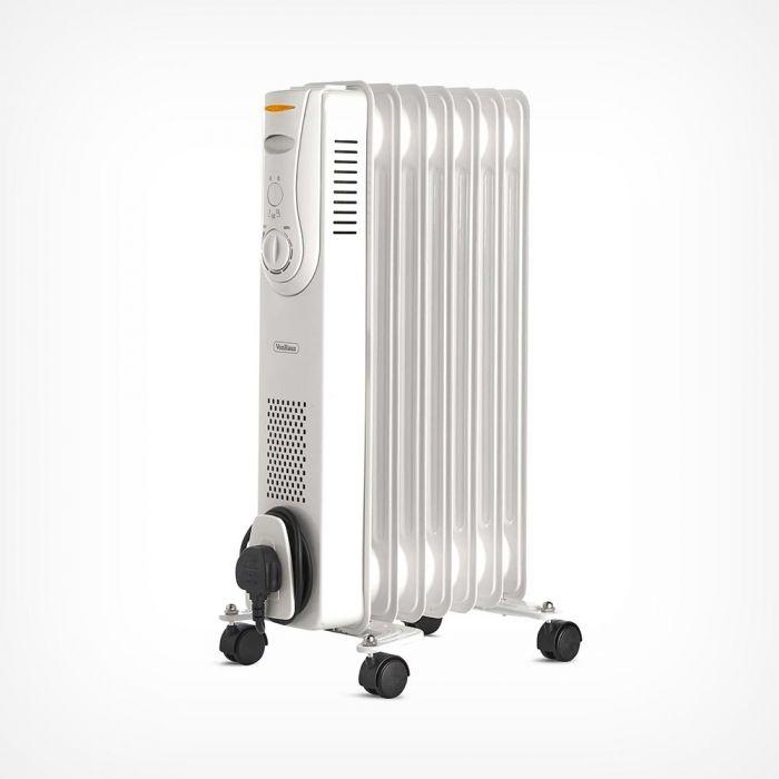 1500W oil-filled radiator - 7 fin - white - £22.39 delivered @ Von Haus