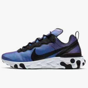 Nike React Element 55 Premium Trainers £55.98 delivered with code @ Nike