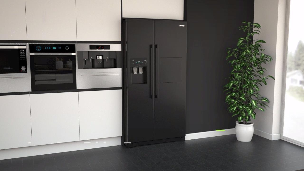Samsung RS3000 RS50N3913BC American Fridge Freezer -Black £854.10 @ AO