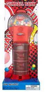 Dubble Bubble Gumball Bank 150g £10 (Refills 454g £3) at Iceland