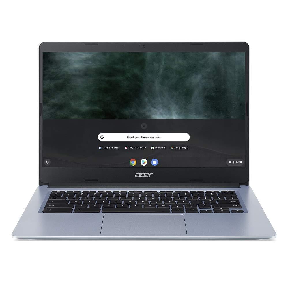 Acer Chromebook 314 CB314-H - (Intel Celeron N4000, 4GB RAM, 32GB eMMC, 14-Inch HD Display, Chrome OS, Silver) £169.99 @ Amazon