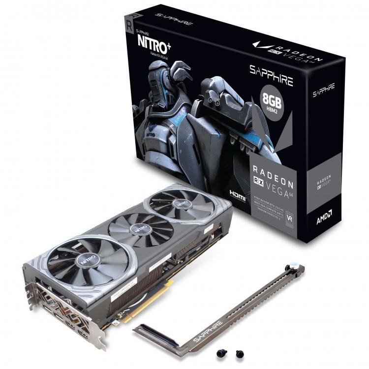 Sapphire Radeon RX VEGA 64 Nitro+ 8GB HBM2 PCI-Express Graphics Card, £309.98 at Overclockers