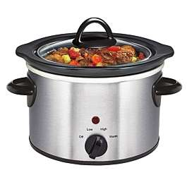 Daewoo 1.5L Manual Slow Cooker - Stainless Steel £8.09 (C+C) £12.04 (Delivery) using code @ Robert Dyas