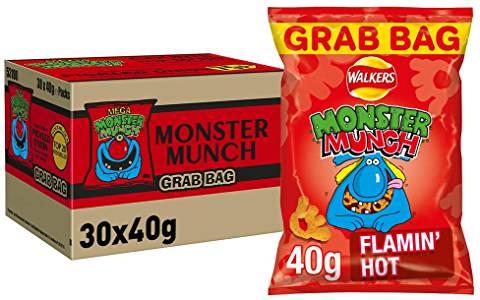 30 pack Monster Munch - £10.44 @ Amazon Prime (+£4.49 non-Prime)