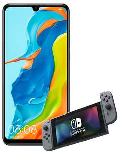Huawei P30 Lite and Nintendo Switch on Virgin Mobile - 100GB data! 36 Month Contract - Total Cost: £864