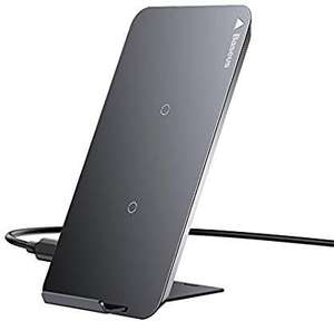 Baseus Dual Coil Qi Wireless Fast Charger Pad / Stand - Black £9.99 @ OPEX Deals Fulfilled By Amazon (+£4.49 non-Prime)