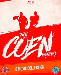 The Coen Brothers: Director's Collection - 8 Film Blu-Ray Set £14.99 (+£2.99 Non Prime) @ Amazon